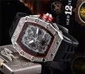 Подарок алмаз DZ digite мужские часы Rlo dz Авто Дата Неделя дисплей светящиеся часы для дайверов нержавеющая сталь наручные мужские часы