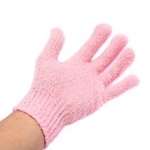 Bath-Towel Peeling Exfoliating-Gloves Body-Scrub-Gloves Shower Spa Mitt 5PCS Fingers