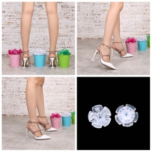 Buy 25 Pair Newest High Heel Protectors High Heeler Stiletto Shoe Heel Saver Antislip Silicone Heel Stopper for Bridal Wedding Party directly from merchant!