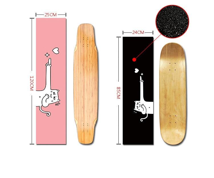 Tape Grip di Skateboard Impermeabile Antiscivolo Professionale Deck a Carta