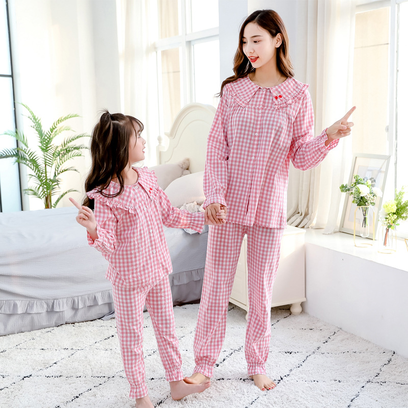 Mom Daughter Matching Outfits Pajamas Hotel Pyjamas Tshirt Matching Family Christmas Sweaters Sets Blouse Mommy and Me Leggings 4