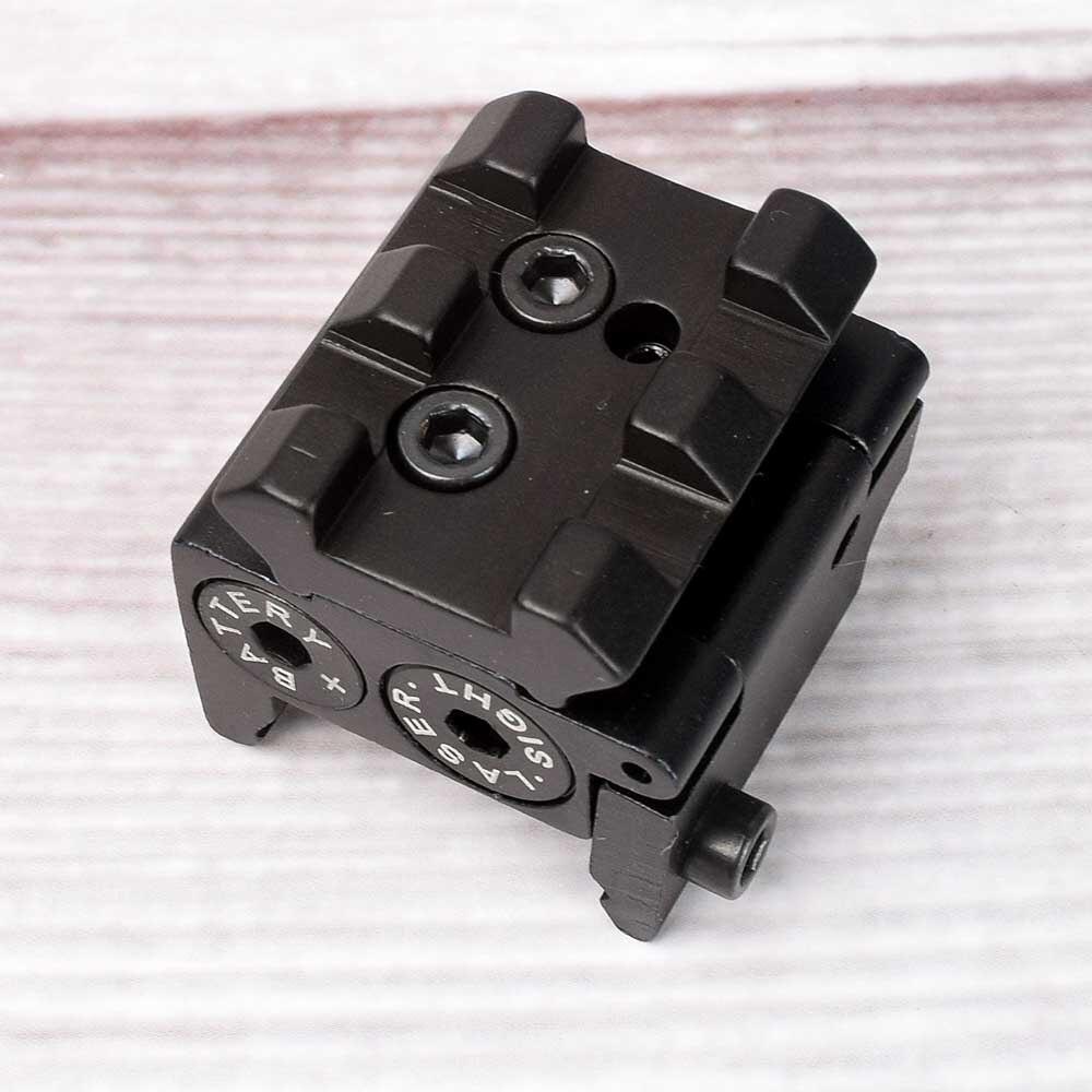 Red Dot Laser Sight Tactical Airsoft Handgun Flashlight Combo LED Tactical Gun Torch for 20mm Rail Glock 17 19 18C 24 P226-2
