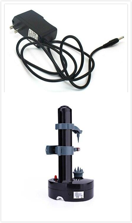 Black with US plug