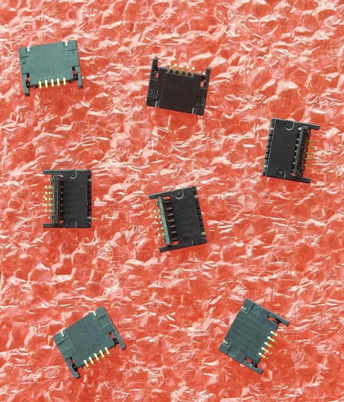 """50 sztuk/partia dla Macbook Pro Retina 13 """"A1425 A1502 kabel wentylatora FPC złącze kontakt 2012 do 2015 logic board fix część"""