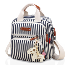 Get more info on the High Level Canvas Colorful Mommy Diaper Bag Baby Nappy Bags Maternity Mommy Women Backpack/Handbag/Messenger Three-In-One Bag