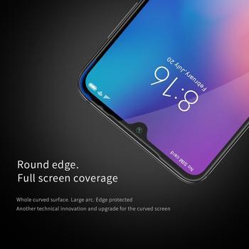 Protector de pantalla de vidrio de cobertura completa para Xiaomi Mi 9, película protectora de vidrio templado Original NILLKIN