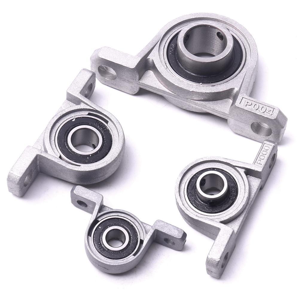 uxcell 4 x 12mm Length x 10mm OD x 8mm Bore Silver Tone Plain Sleeve Bearing