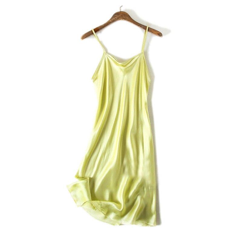 Zijden SLAAP Jurk ECHTE ZIJDE vrouwen nachtkleding gezonde huisjurk - Ondergoed - Foto 5