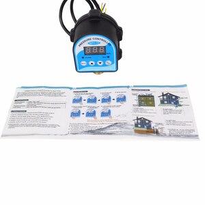 """Image 3 - Digitale Druck Control Switch WPC 10,Digital Display Eletronic Druck Controller für Wasserpumpe Mit G1/2 """"Adapter"""