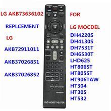 AKB73636102 nuovo telecomando per AKB72911011 For for per LG DVD sistema Home Theater DH4220S DH4130S DH6530T LHD625