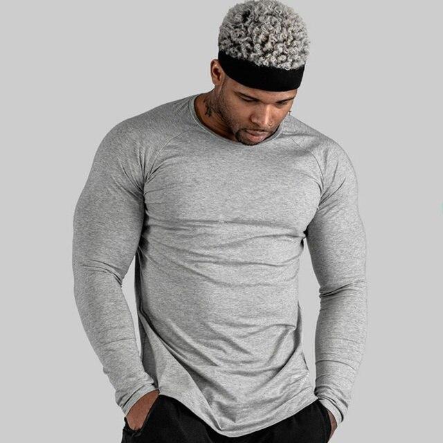 Long Sleeve Muscle Tshirt 8