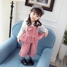 Baby Girl Clothes 3pcs 0-3T Toddler Children Pants Cotton Long Sleeve T-shirt Round Collar Vest Soft Three-piece Set #m