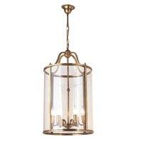 Подвесные светильники в американском стиле  бронзовая Подвесная лампа в европейском стиле для дома и сада  для карнавала  клетка для птиц  л...