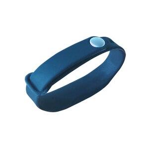Image 2 - 調節可能なシリコーン防水 NFC リストバンドブレスレット Ntag213 タグ