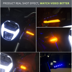 Image 3 - SPIRIT BEAST Motorcycle Turn Lights Waterproof  Modified Car Turn Lights LED Direction Lights Decorative Lights#