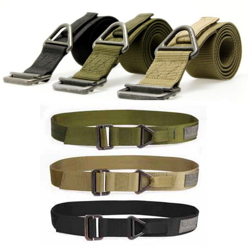 Tactical Belts for Men Women 125cm S09 4.3cm Nylon Combat Duty Rescue Rigger Military Tactical Belt HOt Sale Dropshipping image