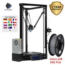 ANYCUBIC Kossel 3d Máy In Impresora 3d Tự Động San Bằng Mô Đun Tuyến Tính Hướng Dẫn Tự Động San Nền Tảng 3D Bộ Máy In 3d Drucker