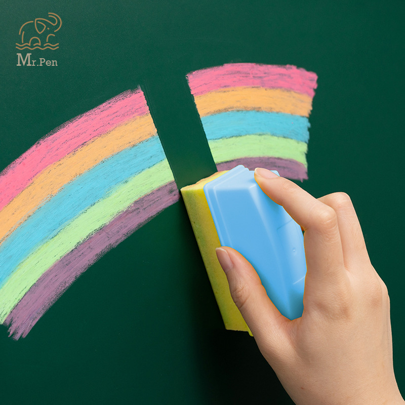 6 Colors White Dustless Chalk Pens For Blackboard Kitchen Jar Removable 6 Colors Mark Pen Stationery Water Soluble Chalk