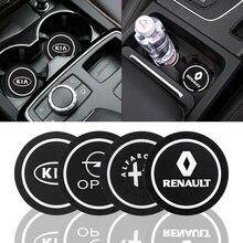 Coaster-Mat Toyota Skoda Ford Subaru Peugeot Suzuki Car Renault Bmw/Benz/Kia Opel Hyundai