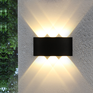 Outdoor Lamp Wall Light Ip65 Cob Led 18W 6W Luces Exterior Outside Light Contemporary Home