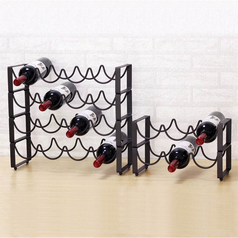 Red Wine Rack European Style Wrought