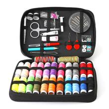 Multi-piece Sewing Box Kit Needle Threader Travelling Embroidery Sewing Needles Craft Quilting Stitching DIY Sewing Kits MomGift 30pcs cross stitch needles craft embroidery tool large eye sewing needles hand sewing needle with threader home diy sewing tool