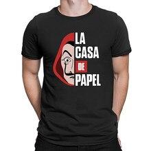 T-shirt manches courtes pour hommes, hauts télévisée La Casa De Papel