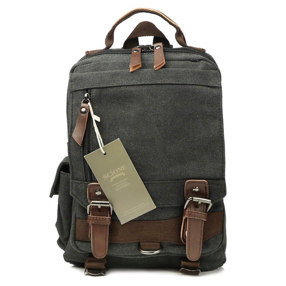 Canvas Multifunctional Backpack 57