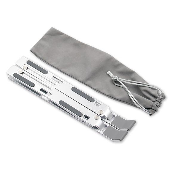 Aluminum Alloy Laptop Holder Stand Adjustable Folding Portable for Notebook Computer Bracket Lifting Cooling Holder Non-slip