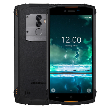 DOOGEE S55 IP68 Waterproof shockproof mobile phone 5500mAh 4GB+64GB 5.5 Android 8.0 Octa Core 5V2A Quick Charger Smartphone starveitu for doogee bl5000 power volume fpc replacment flex cable 5 5 mtk6750t octa core mobile phone