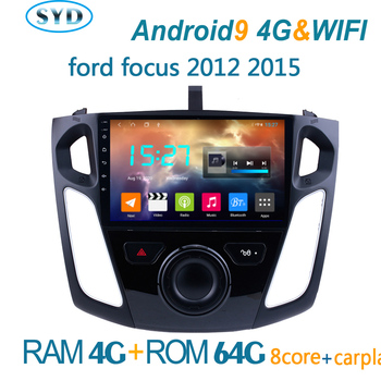 car radio forFord Focus 2012-2015 android DVD central multimedia player GPS navigator autoradio coche audio auto coche BT 2din image