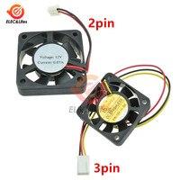 40x40x10mm 4010 ventiladores 12v sem escova dc ventiladores 2 pinos 3 pinos para impressora 3d dissipador de calor refrigerador refrigeração radiatoror 4020 ventilador