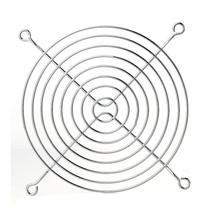 Вентилятор cpu гриль для охлаждения вентилятора 120 мм 12 см Серебряный тон cpu Гриль протектор металлический предохранитель для пальцев компьютера телефон ремни дешево