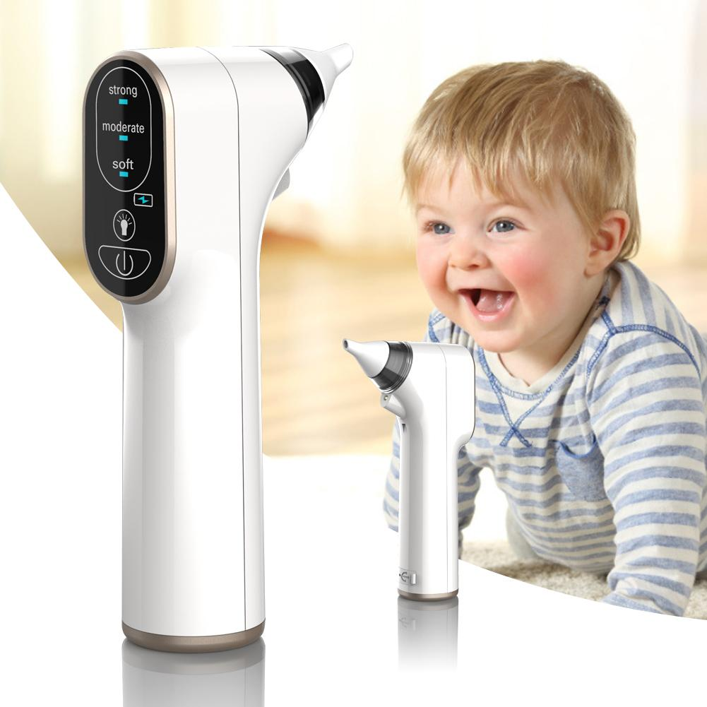 Upgraded Version Nasal Vacuum Cleaner For Baby Electric Nose Cleaner Waterproof Nasal Suction Device Nasal Aspirator Sniffing