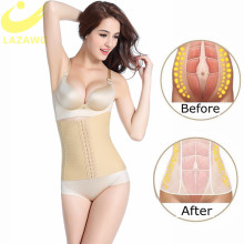 LAZAWG Women Waist Trainer Belt Weight Lost Cincher Body Shaper Firm Tummy Control Strap Slimming Corset Fat Compression Girdle