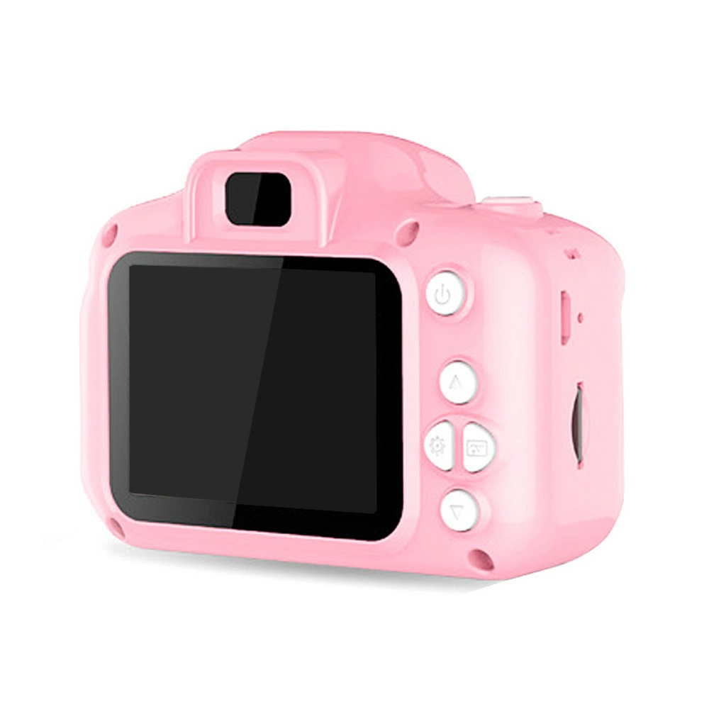 Hab4d471d58d14fbd8aace266ac5f9547n Rechargeable Kids Mini Digital Camera 2.0 Inch HD Screen 1080P Video Recorder Camcorder Language Switching Timed Shooting #S