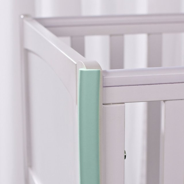 2M U-Shape Table edge Corner Protections Thick Rubber Furniture Desk Cover Protectors Foam Baby Safety Bumper Guard Strip 3