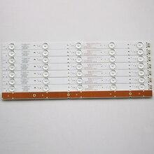 16 Cái/lô Cho Skyworth 40E3500 7710 640000 D020 5800 W40000 2P00  3P00 Màn Hình LCD Có Đèn Nền Thanh 38.3 Cm 100% Mới