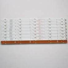 16 Pièces/lot POUR Skyworth 40E3500 7710 640000 D020 5800 W40000 2P00  3P00 LCD rétro éclairage barre 38.3CM 100% NOUVEAU