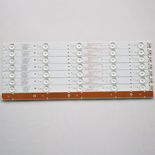 16 ชิ้น/ล็อตสำหรับ Skyworth 40E3500 7710 640000 D020 5800 W40000 2P00  3P00 LCD Backlight บาร์ 38.3 ซม.100% ใหม่