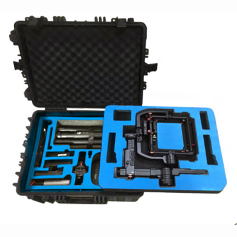 Aluminum DJI RONIN-MX Case Plastic Protective Box Impact Resistant Protective Case With Custom EVA Lining