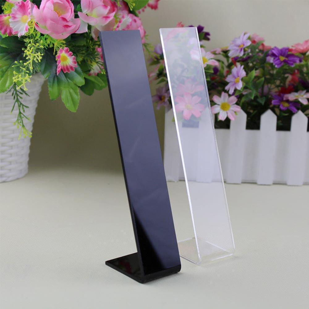 Fashion Acrylic Hair Clip Jewelry Showcase Holder Hairpin Display Show Stand Holder Jewelry Display Stand Rack New Arrival