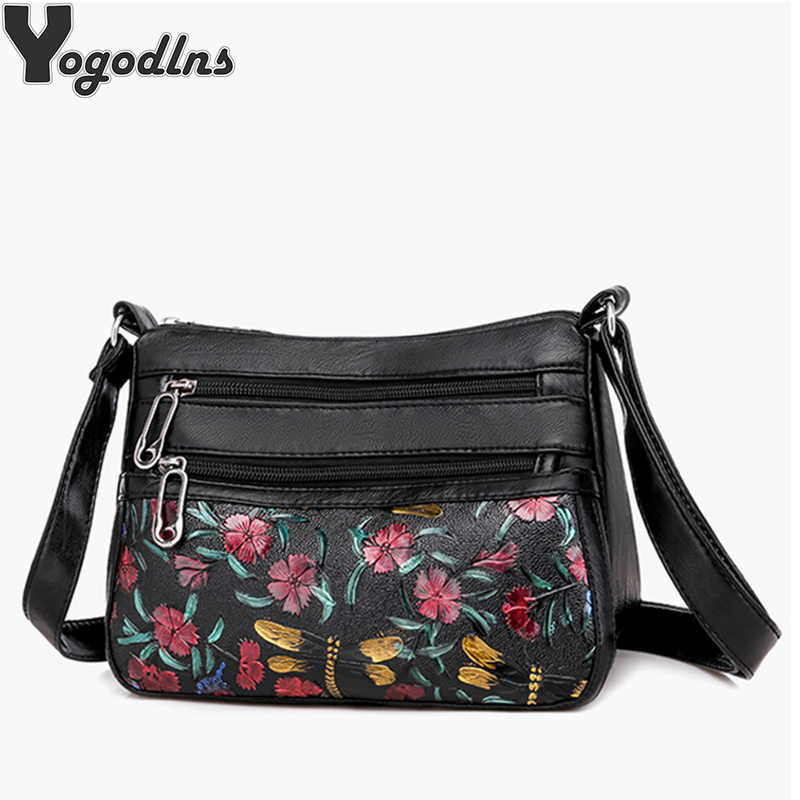Frauen PU Leder Handtaschen Messenger Taschen Designer Umhängetasche Frauen Schulter Tasche Top-griff Taschen Hohe Qualität Mama Tasche
