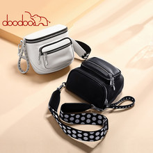 DOODOO Bag Female 2020 New Personality Wild Chest Fashion Waist Single Shoulder Diagonal Casual