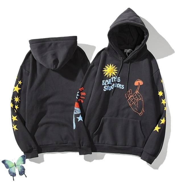 Kanye West & KID CUDI Joint Name Hoodie  1