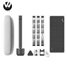 Youpin destornillador eléctrico inalámbrico Wowstick 1F + 64 en 1, con carga de iones de litio, kit de controlador de tornillo