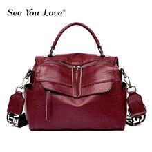 2019 New Luxury Ladies Handbags Sheepskin Leather Female Crossbody Bags for Women Sac A Main Designer Brand Casual Shoulder