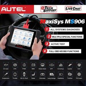 Image 5 - AUTEL MaxiSys MS906เครื่องมือวินิจฉัยอัตโนมัติOBD2เครื่องสแกนเนอร์รถยนต์Key Coding OBD 2 ECU Tester Key Programmer PK MS906BT MS906TS