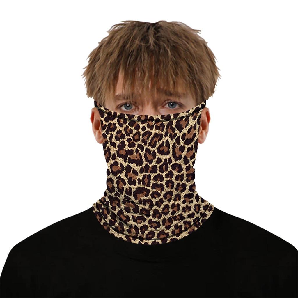 Stylish Printed Dustproof Scarf Mask 23
