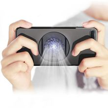 Handy Kühler Fan Halter Gamepad Stumm Tragbare Heizkörper Kühlkörper Stand Cooling Halterung Für iPhone Samsung Huawei Xiaomi